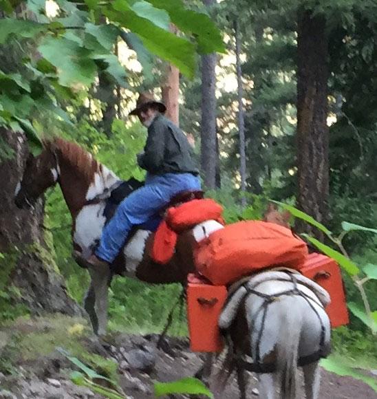 "Singing ""HU"" to Horses"