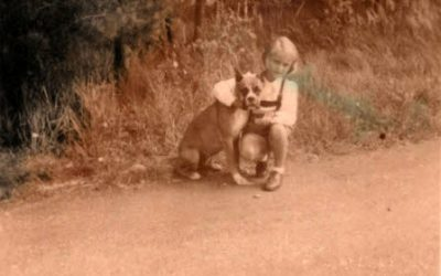 A Little Girl's Dog Best Friend